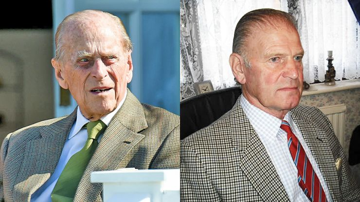 It's a hell of a week to be a professional Prince Philip lookalike