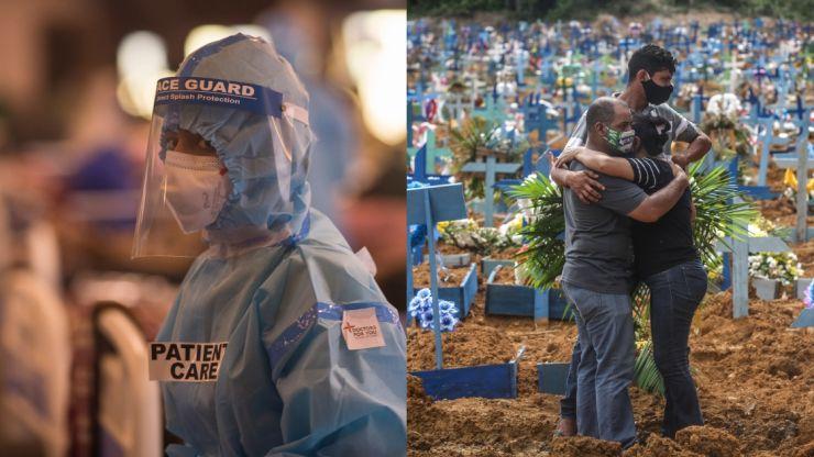 Global Covid death toll passes three million