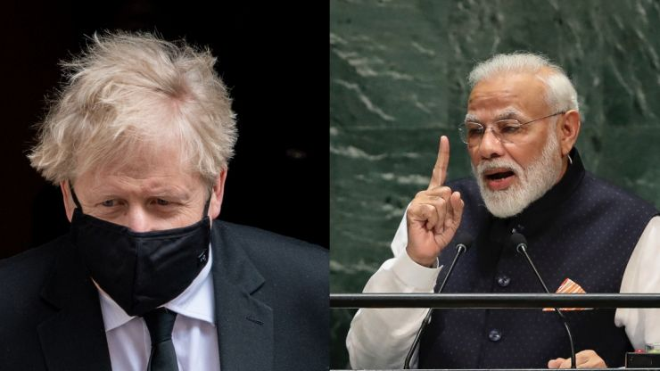 Boris Johnson to visit India despite rising cases and evidence of new variant