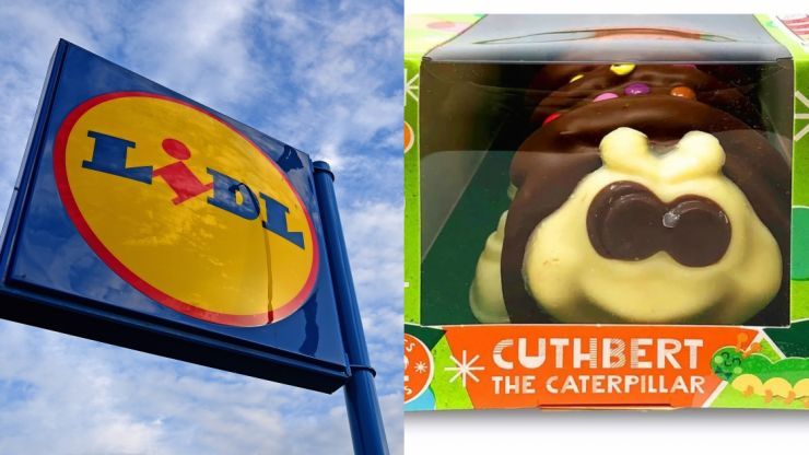 Lidl weigh in on the Aldi and M&S beef over Colin the Caterpillar