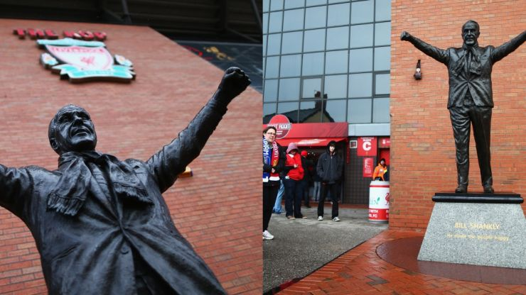 Bill Shankly's grandson asks for statue to be removed from Anfield
