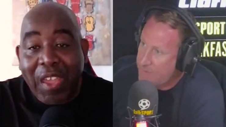 Ray Parlour and Robbie Lyle clash over accusations AFTV want Arsenal to lose