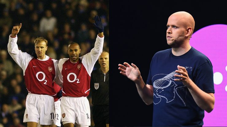 Spotify owner planning Arsenal takeover bid with three members of Invincibles team