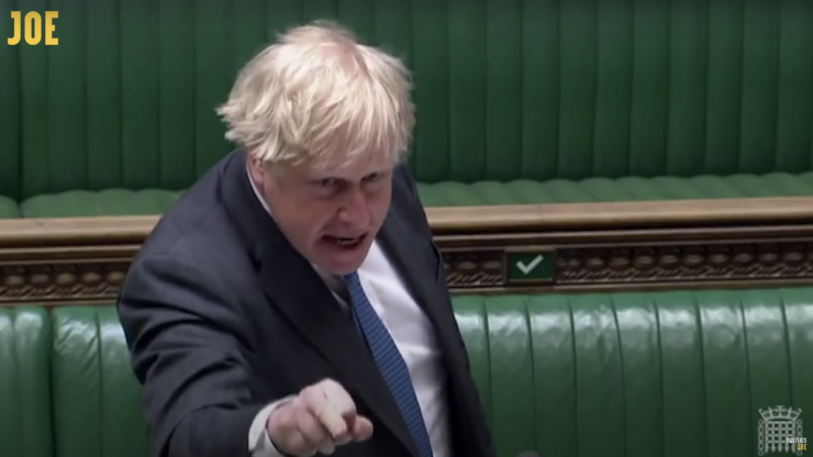 Boris Johnson has revealed himself to be the embarrassing man-child he really is