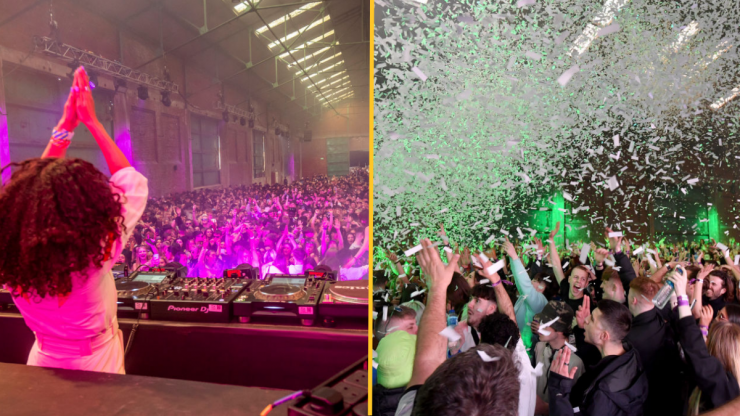 Joyous scenes as clubbers return at Liverpool test event