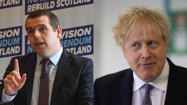 Boris Johnson must quit if he broke ministerial code, Scottish Tory leader says