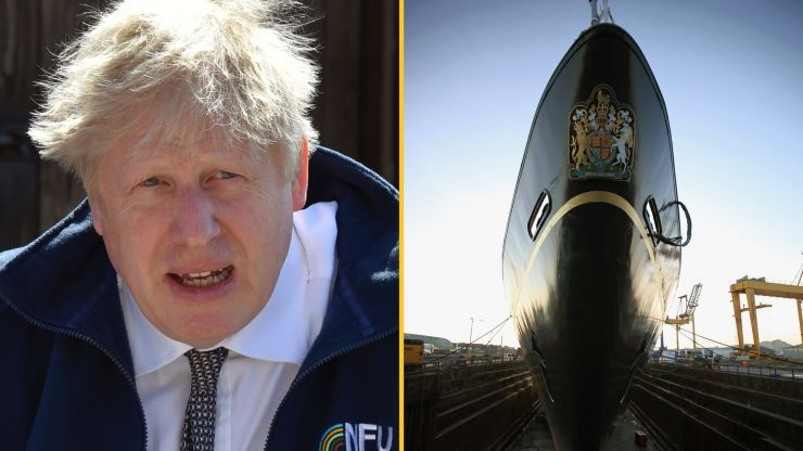 Boris Johnson 'to commission £200m yacht named after Prince Philip'