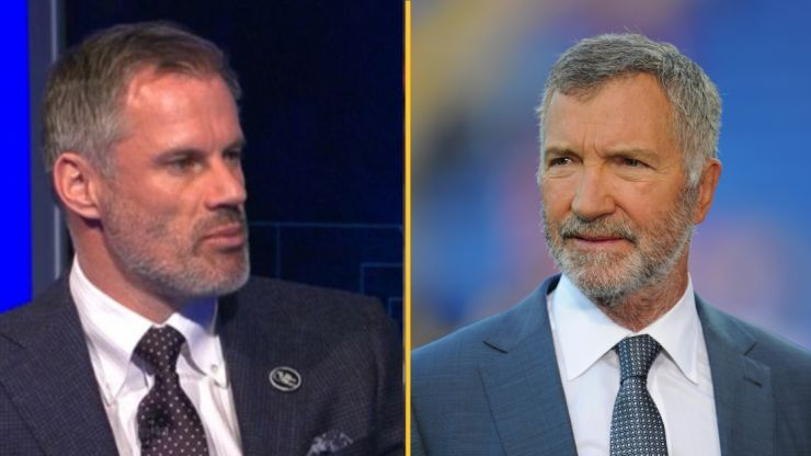 Jamie Carragher hits out at Souness over 'lazy punditry' after United protest
