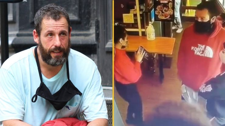 Adam Sandler finally responds after video of him being turned away from restaurant goes viral