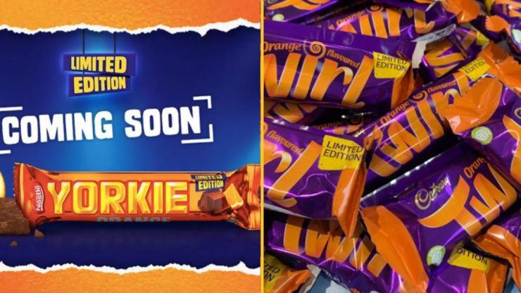 Chocolate orange Yorkie bars are launching in the UK next week