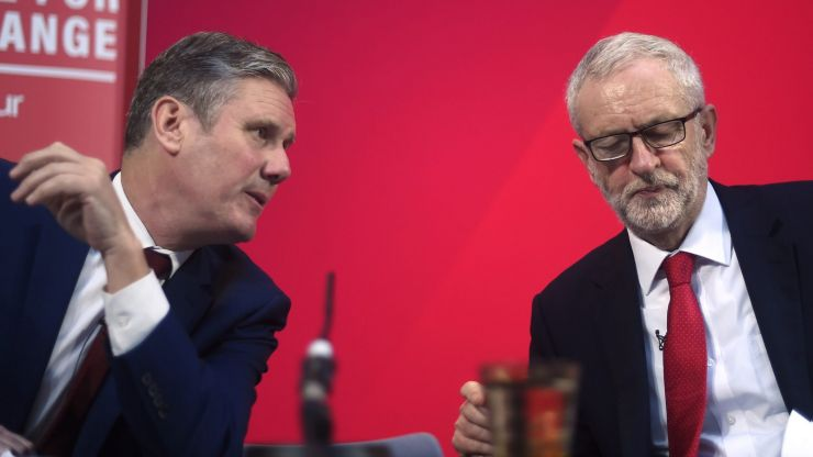 Blaming Jeremy Corbyn for Labour's failures is a sign of a party in denial and in decline