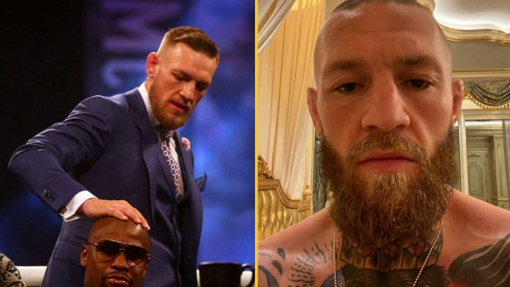 Conor McGregor calls Floyd Mayweather 'embarrassing' for punching Jake Paul