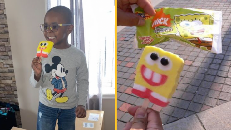 Four-year-old slaps mum with $2,600 bill after ordering 918 SpongeBob ice popsicles