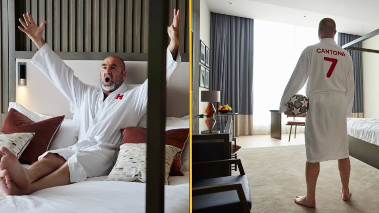 Eric Cantona launches 'Do Not Disturb' hotel rooms for fans to watch Champions League final