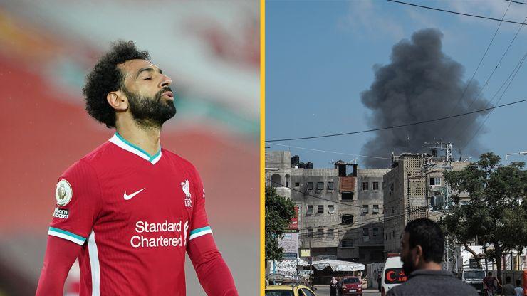 Mo Salah calls on Boris Johnson to condemn Israel-Palestine violence