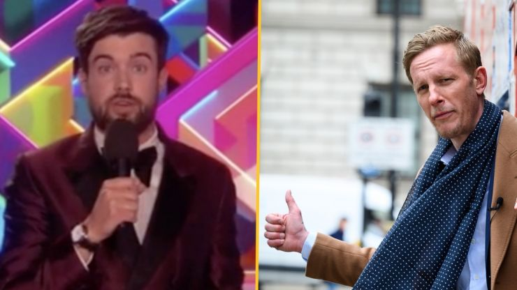 Jack Whitehall rips into Laurence Fox at Brits after disastrous London mayor bid