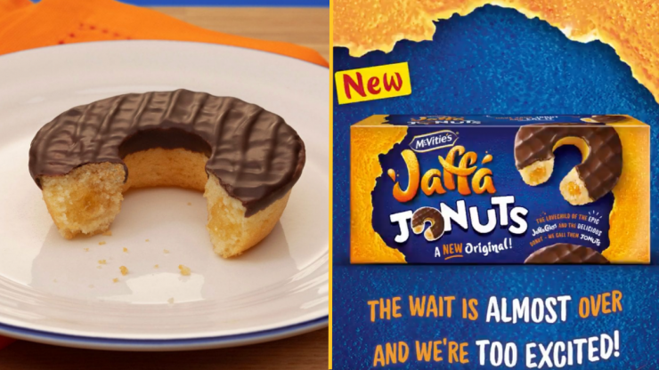 Jaffa Cake doughnuts are now a thing, apparently