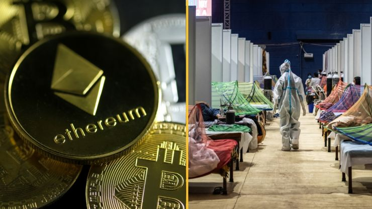 Ethereum co-founder donates $1.5B to India Covid relief fund | JOE.co.uk