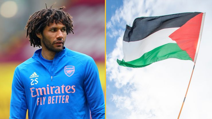 Arsenal sponsor demands immediate talks with club after Mohamed Elneny posts support for Palestine