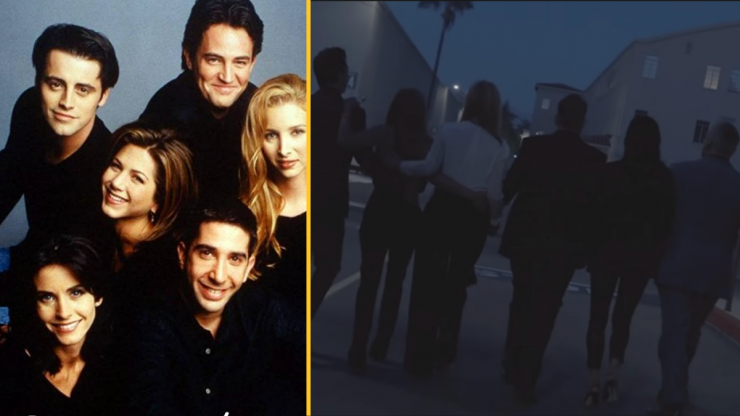 Friends reunion premiere date announced, along with special guests