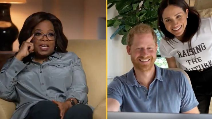 Harry and Meghan star in emotional trailer for Oprah's new Apple TV show