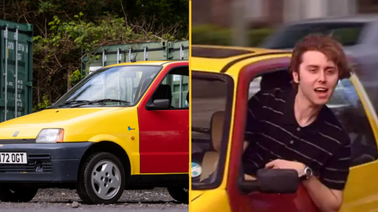 The iconic 'Bus W***ers' car from Inbetweeners is now up for sale