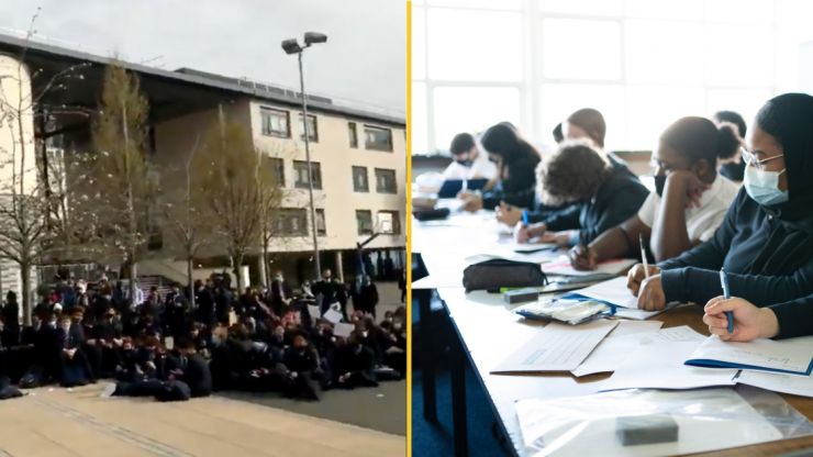Head teacher quits over 'racist' uniform policy that prompted student protests