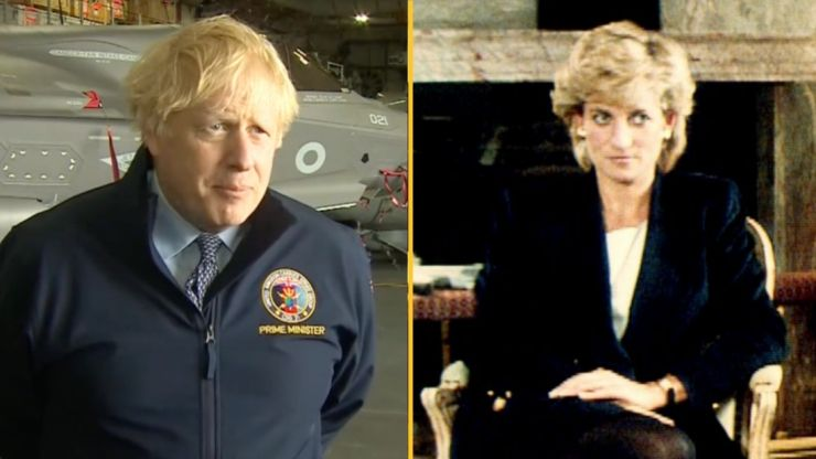 PM 'issues warning' to BBC after Diana report