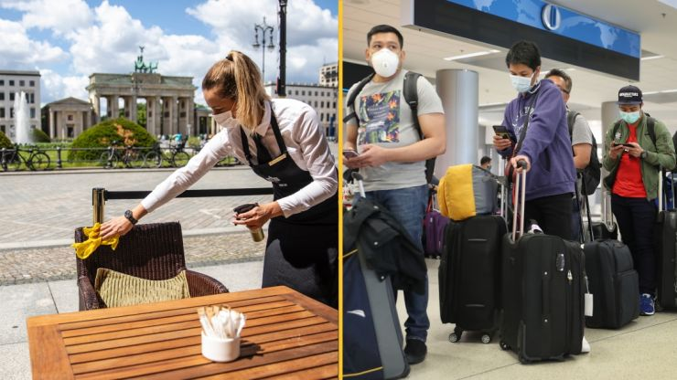 Germany bans UK travellers in response to Indian Covid variant