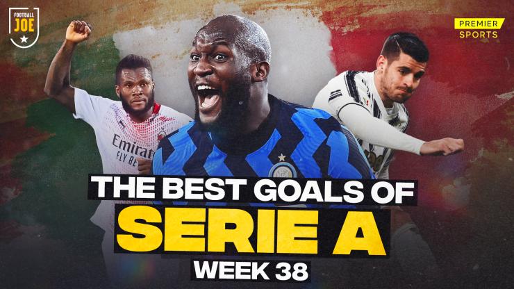 WATCH: All the best goals from Serie A gameweek 38