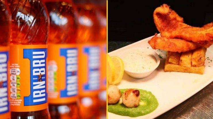 Irn Bru fish and chips are a thing and I don't know how to feel about it