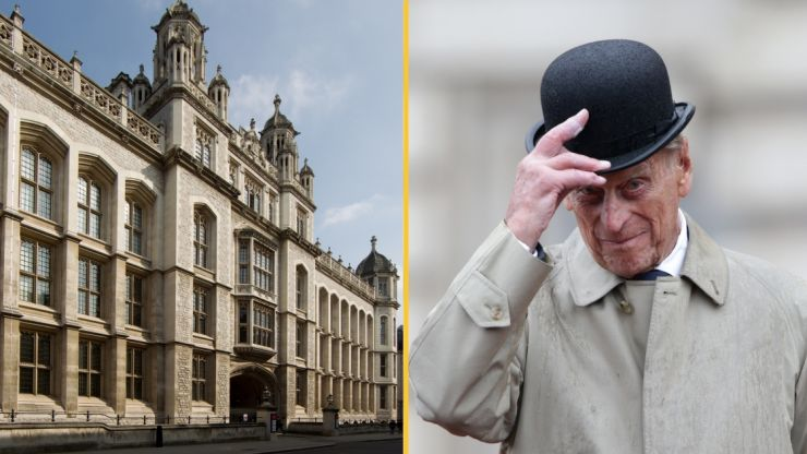 King's College apologises for Prince Philip photo due to duke's 'history of racism'