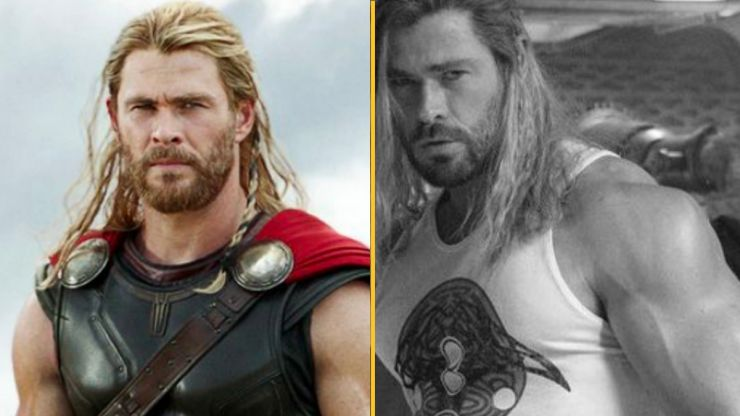 People can't believe Chris Hemsworth is even more jacked for new Thor film than ever