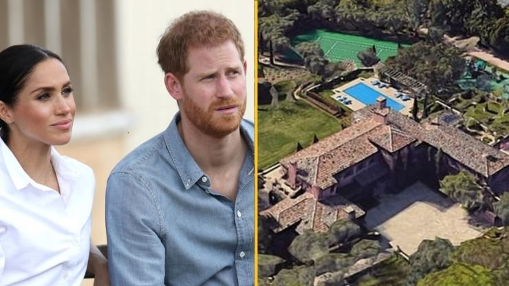 'Human remains found' near Prince Harry and Meghan Markle's mansion