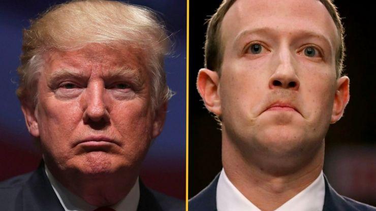 Trump vows revenge on Mark Zuckerberg when he's 'back in the White House'