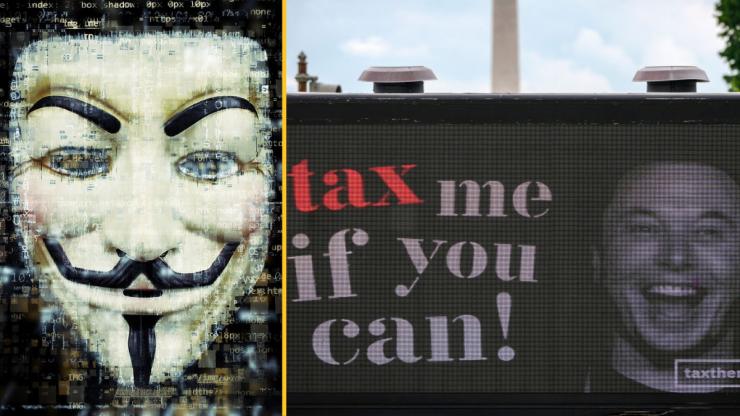 Anonymous threatens to target Elon Musk