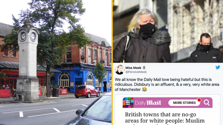 Daily Mail criticised after 'ridiculous' and 'racist' piece on 'no-go areas for white people'