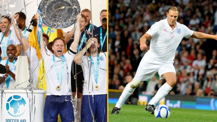 The lineup for Soccer Aid 2021 has been confirmed