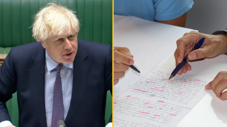 Boris Johnson says children of wealthy parents have access to private tutoring because of 'parents' hard work'