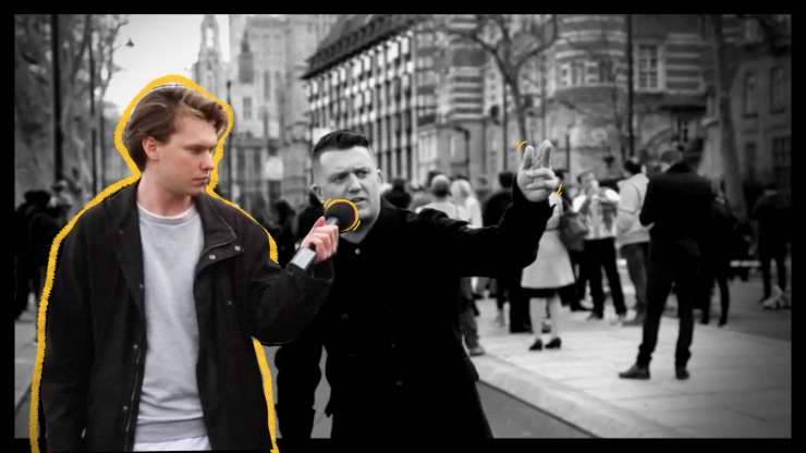 'I made Tommy Robinson go viral, will you forgiveme?'