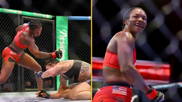 Claressa Shields dominates in MMA debut victory