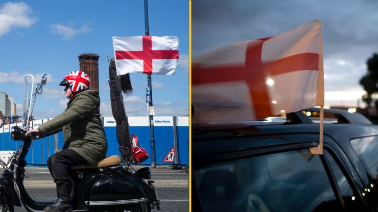 You could be fined £1,000 for flying a flag on your car during EURO 2020