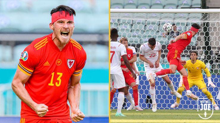 Euro 2020: Wales battle back to salvage point from Switzerland in Baku heat