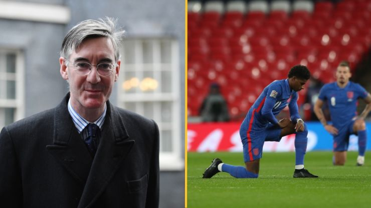 Jacob Rees-Mogg defends booing England players who take the knee