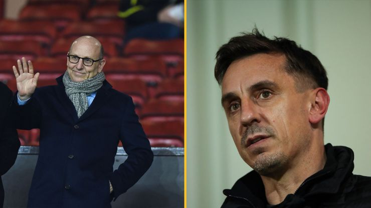 """Joel Glazer says Gary Neville has been """"pretty hard"""" in his criticism of Glazer family"""