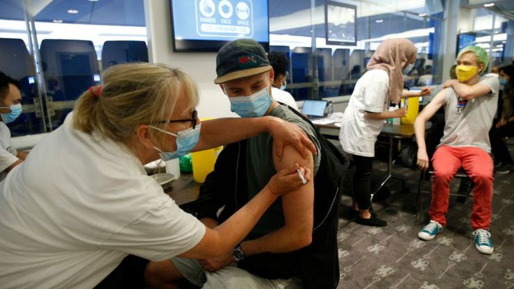 Over 700,000 got their vaccine on first day of jabs for 18-20-year-olds