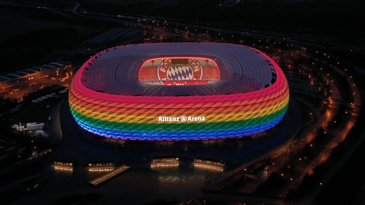 German clubs plan rainbow lights displays in protest of UEFA decision