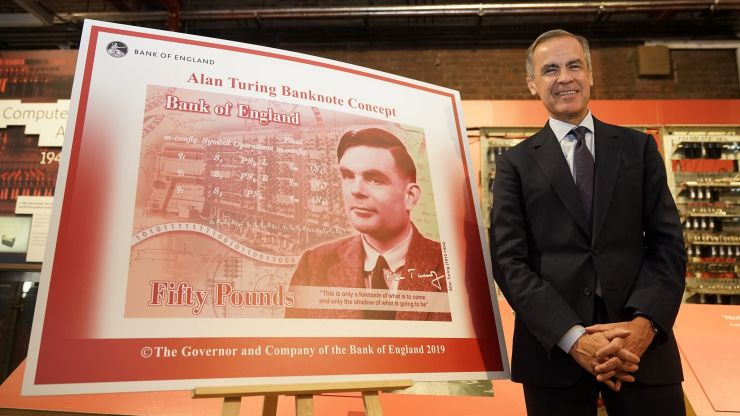The new Alan Turing £50 note enters circulation from today