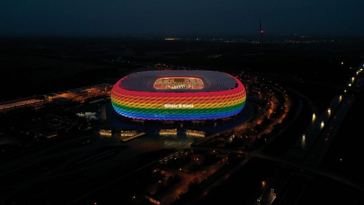 UEFA receives letter from over 20 LGBTQ+ fan groups 'demanding action' over Munich decision