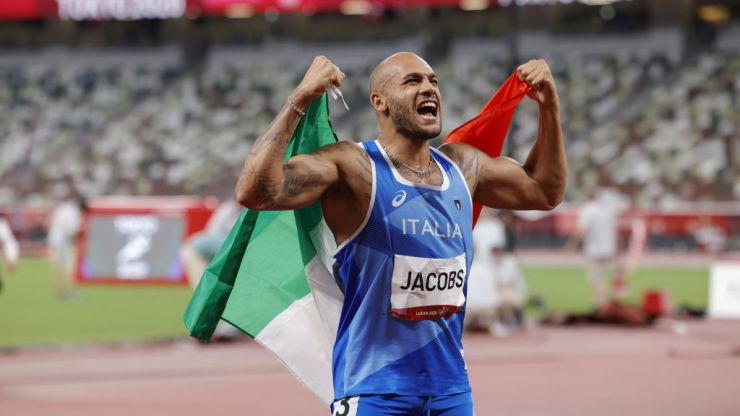 Tokyo Olympics: Italy's Lamont Marcell Jacobs wins shock gold in 100m final